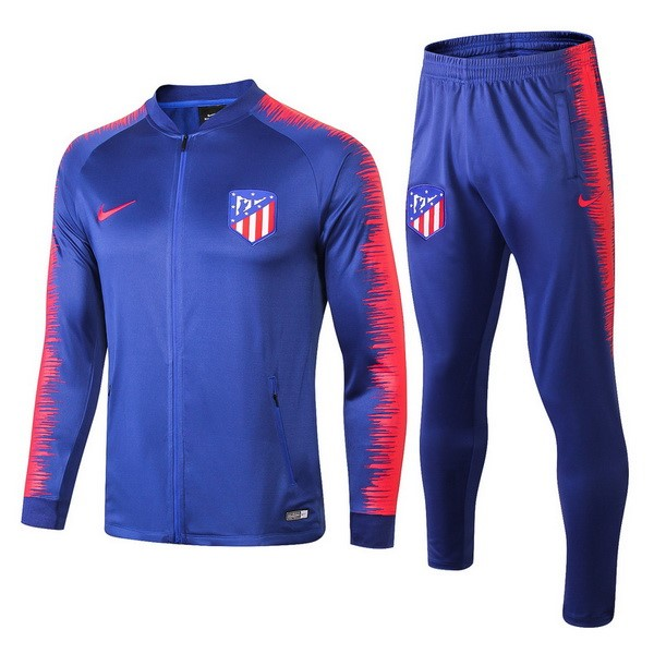 Chandal Atletico Madrid 2018/2019 Azul Rojo Replicas Futbol